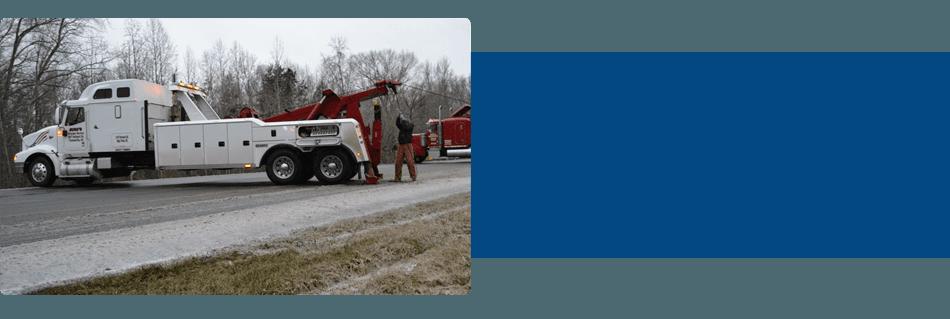 Buck's Wrecker Service truck