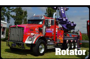 Rotator truck