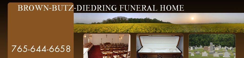 Funeral Services Anderson In Brown Butz Diedring Funeral Home