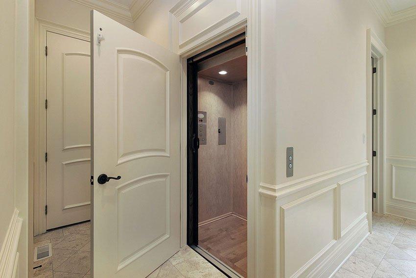 door from luxury home