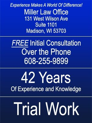 Personal Injury - Madison, WI  - Miller Law Office