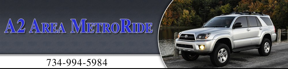 Airport Car Rental - Ann Arbor, MI - A2 Area MetroRide