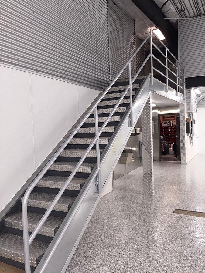Metal Handrail Designs Bellingham Wa Metal Stair Designs