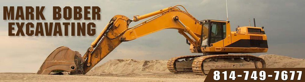 Excavation Contractors - Nanty Glo, PA - Mark Bober Excavating