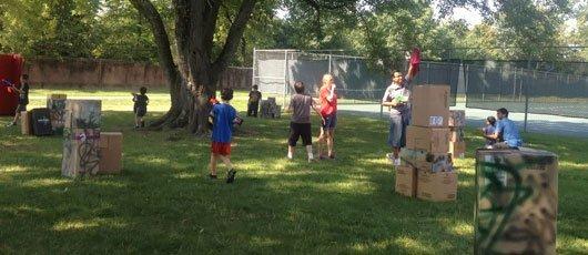 Summer camp outdoor