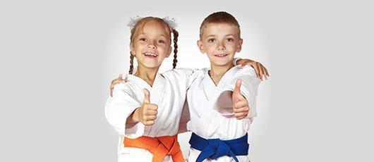 Martial art kids