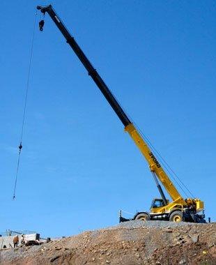 Industrial Crance Service | Starksboro, VT | Sky Crane Service LLC | 802-434-8505