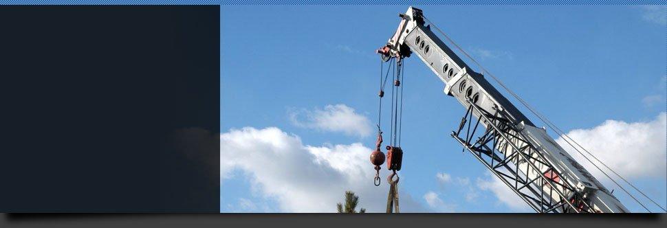 Crane Service | Starksboro, VT | Sky Crane Service LLC | 802-434-8505