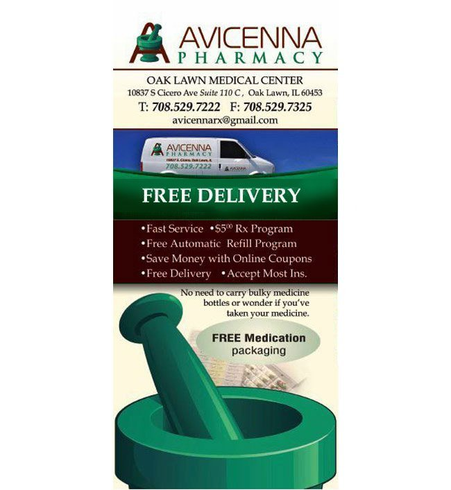 Avicenna Pharmacy Oak Lawn Medical Center 10837 S. Cicero Ave, Oak Lawn, IL 60453