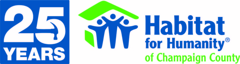 Habitat for humanity of champaign county logo
