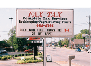 Bookkeeping and Accounting | Shelbyville, TN | Fax Tax | 931-536-4040
