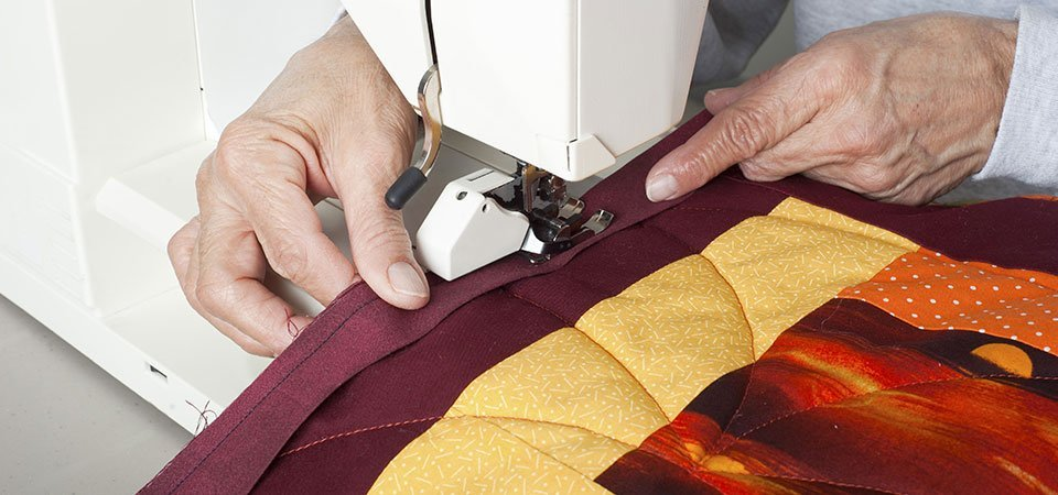 Quilt stitching
