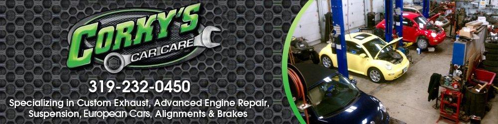 Auto Repair Shop - Waterloo, IA - Corky's Car Care