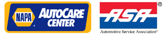 NAPA Auto Care Center and ASA Logo