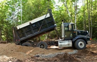 Sand and gravel hauling | Jackson, TN | Bosco Contractor Services | 731-697-8333