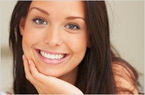 Woman with beautiful teeth