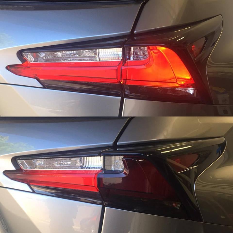Smoke tail lights