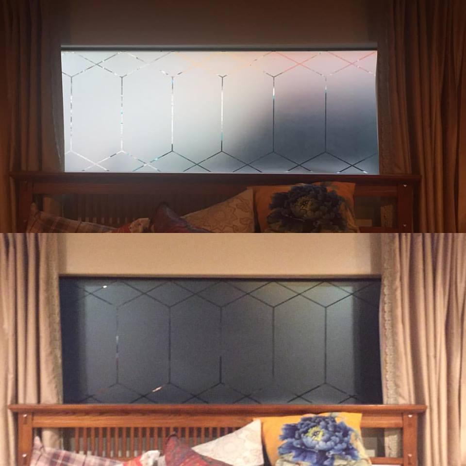 Decorative window tint