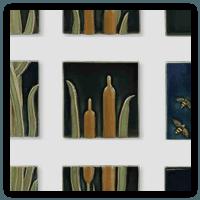 Rookwood Tiles | Middlebury, VT | Distinctive Paint & Interiors | 802-388-2500