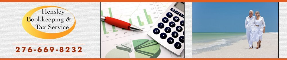 Financial Services - Bristol, VA - Hensley Bookkeeping & Tax Service