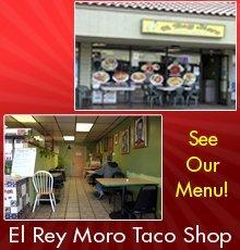 Mexican Restaurant - San Diego, CA - El Rey Moro Taco Shop