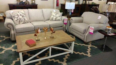 Sofa and Recliner