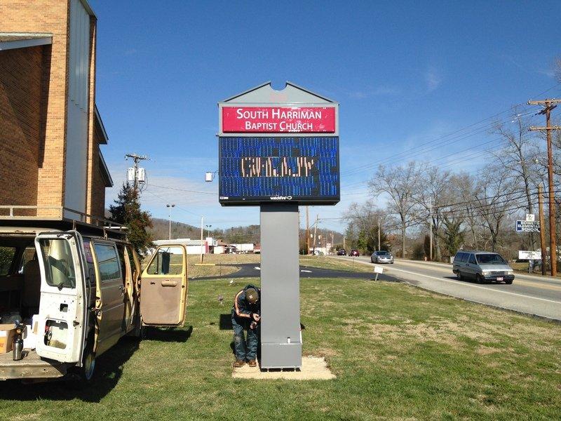Val U Signs Message Centers Photo Gallery Oak Ridge Tn