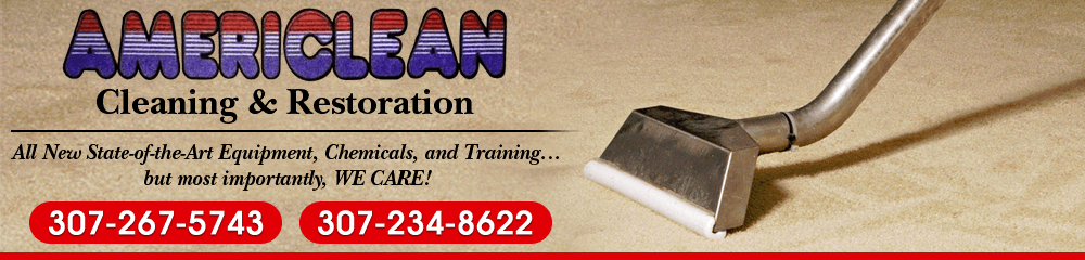 Cleaning Company - Casper, WY - Americlean Cleaning & Restoration