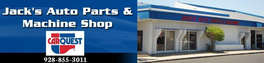 Auto Part Sales - Lake Havasu City, AZ - Jack's Auto Parts & Machine Shop