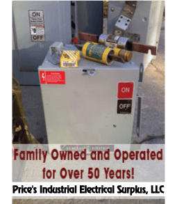 Electrical Supply - Southfield and Detroit, MI - Price's Industrial Electrical Surplus, LLC