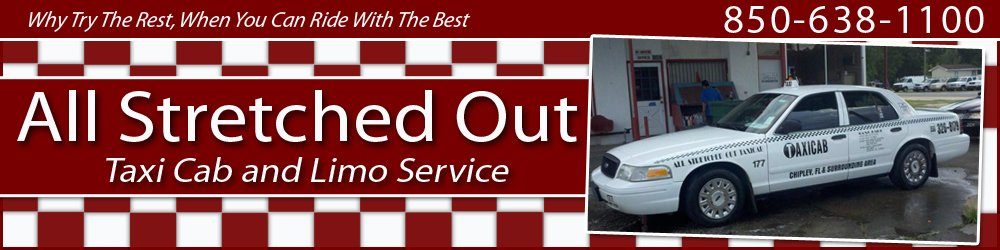 Taxicab And Limousine Services - Blountstown, FL - All Stretched Out Taxi Cab and Limo Service