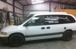 Customer van