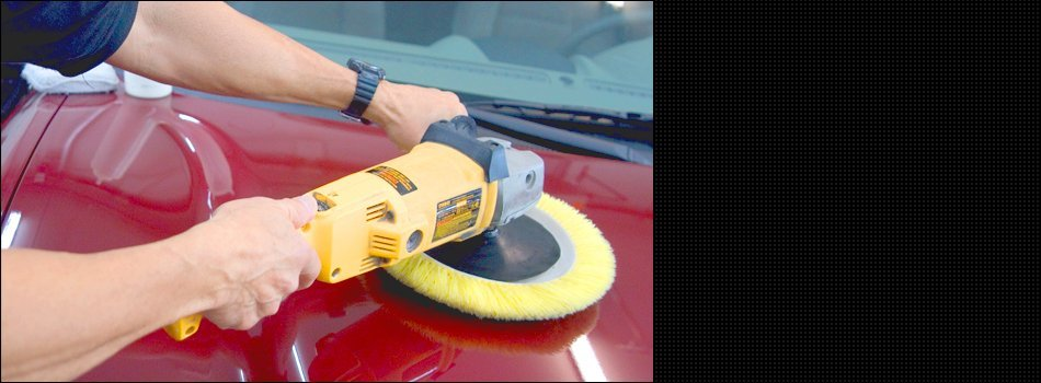 Cleaning the car's body