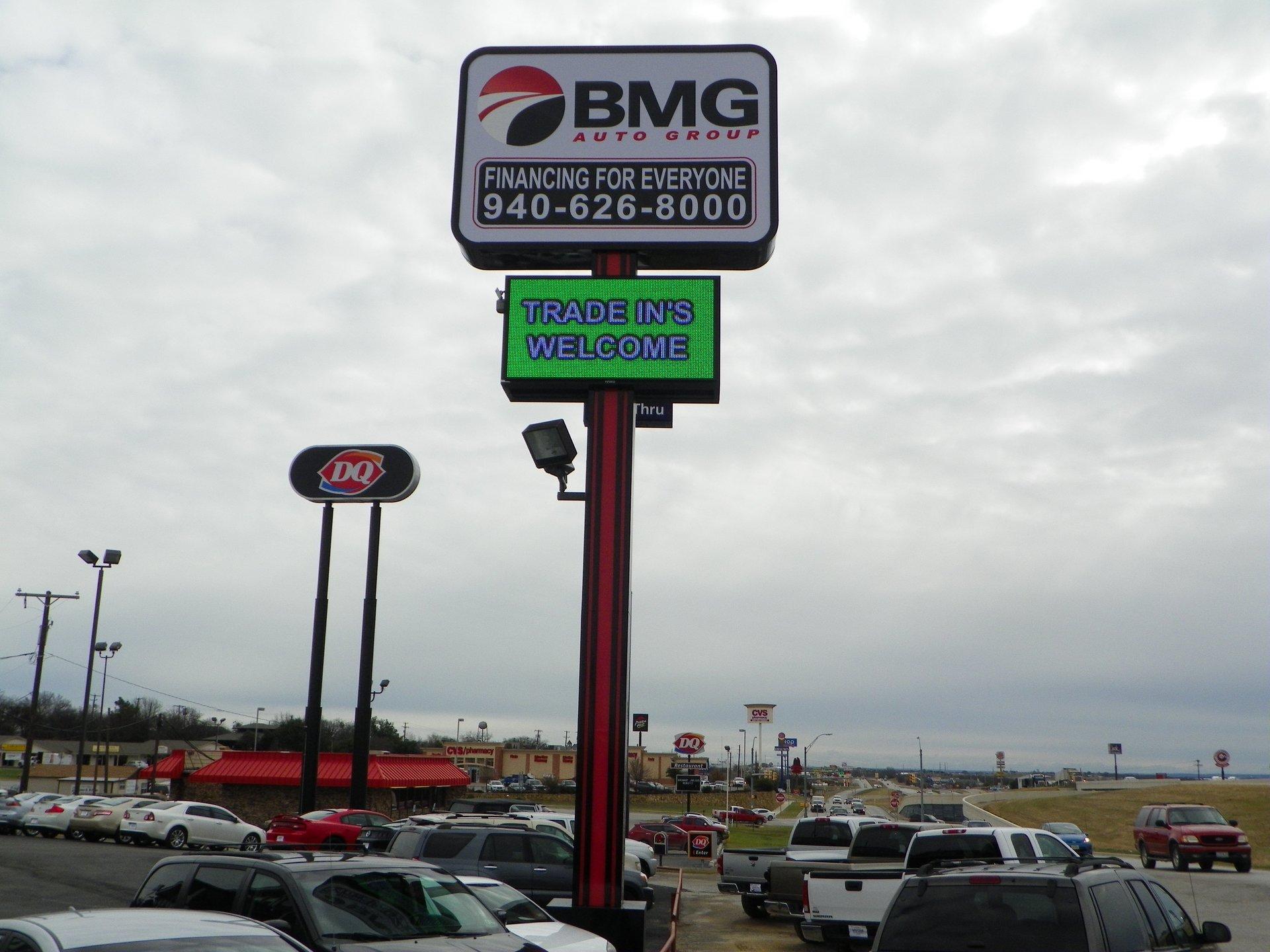 BMG sign