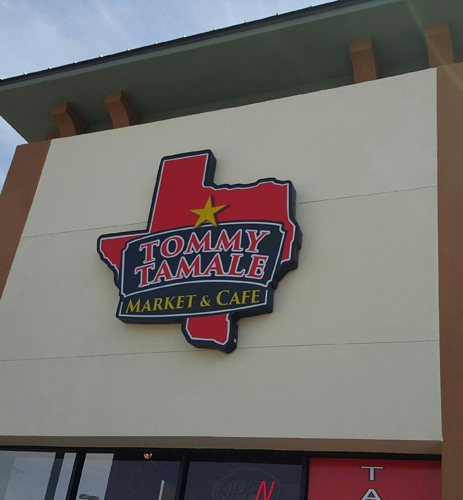 Tommy Tamale Sign