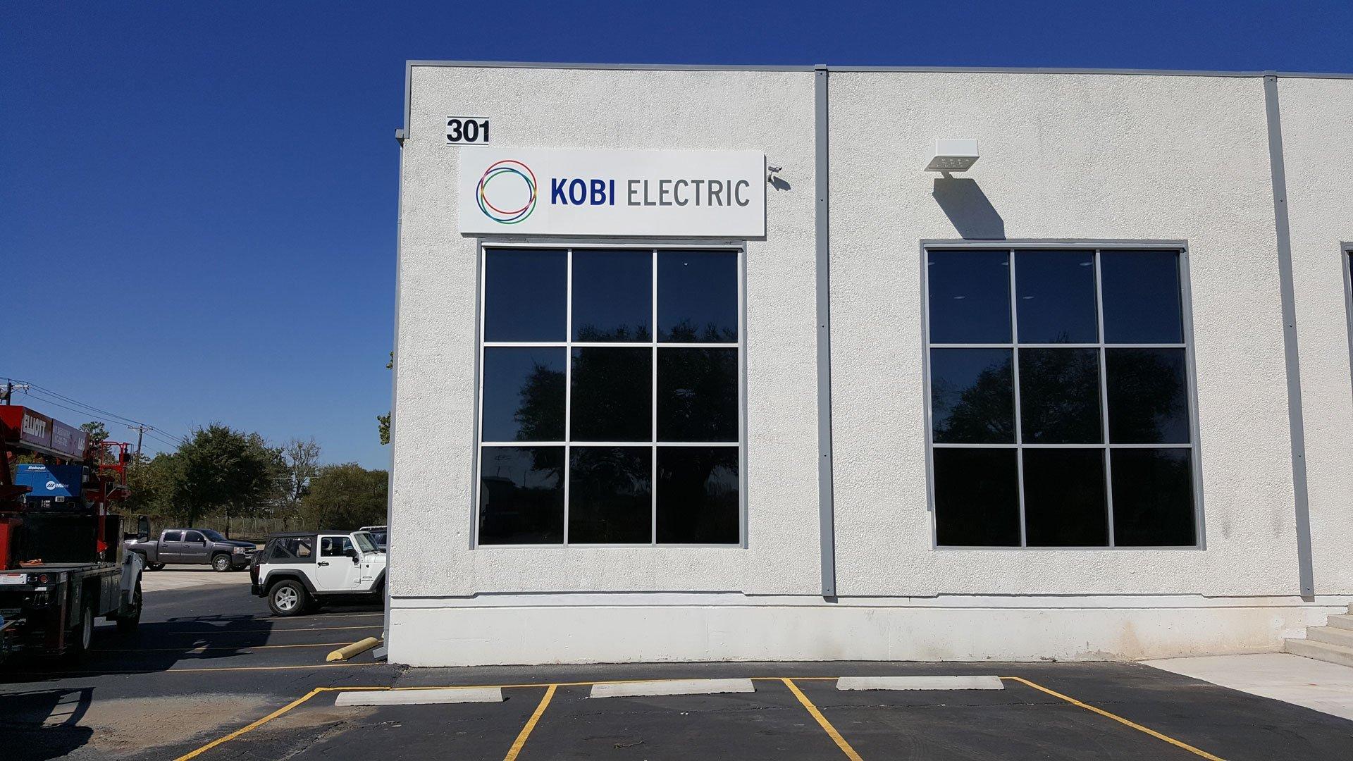 Kobi Electric Sign