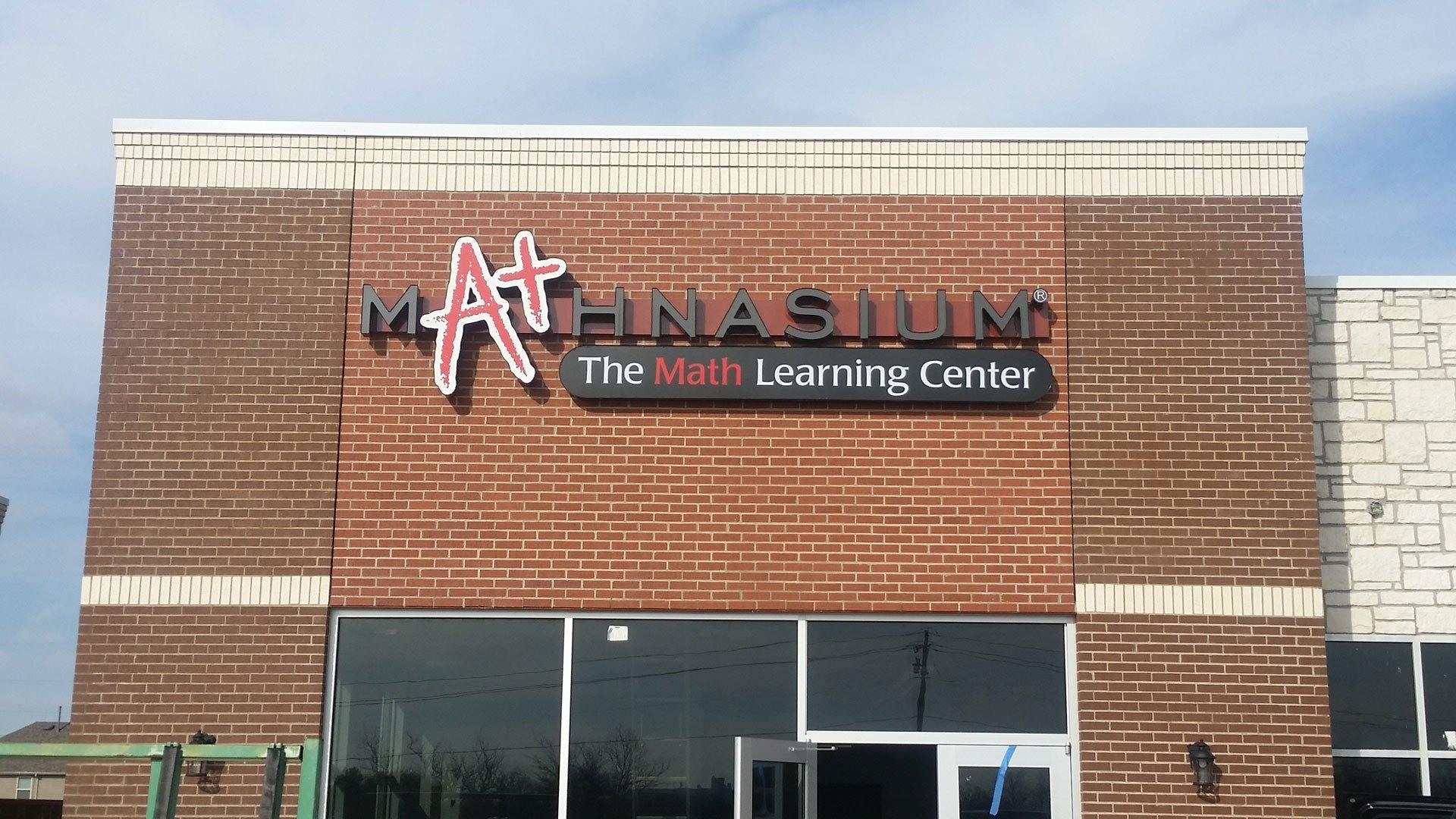 mathnasium Sign