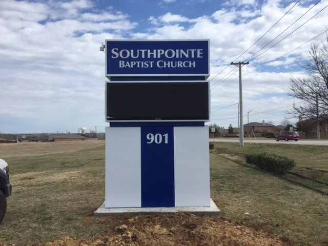 Southpointe Church Sign