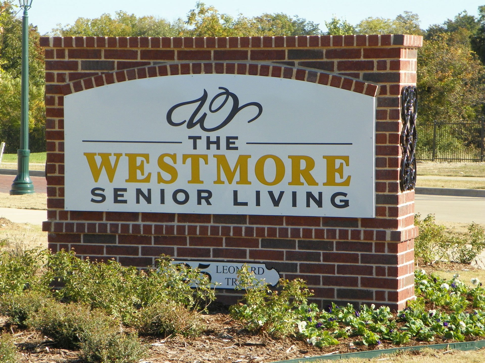 Westmore Senior Living Sign