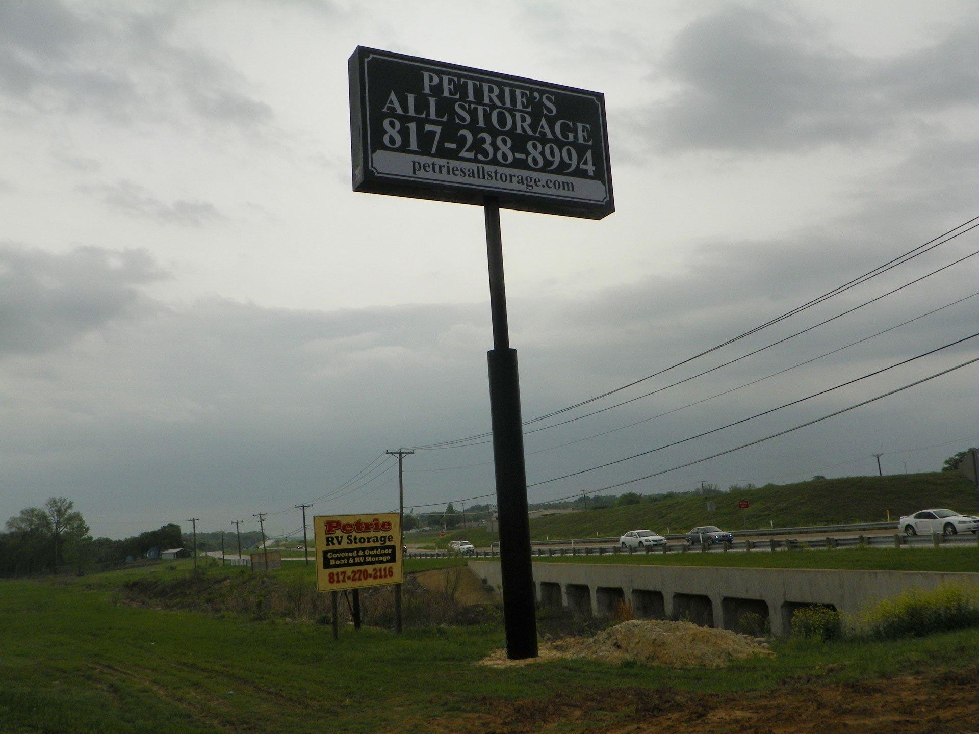 Pete's Autosale Sign