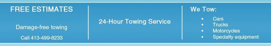 24-Hour Towing Services  - Skyline Towing  - Pittsfield, MA