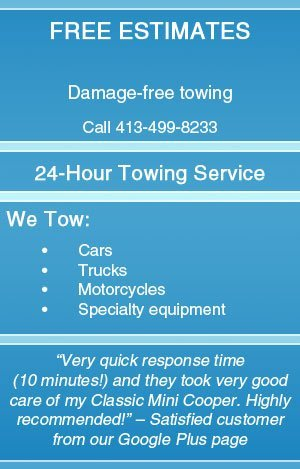 Towing Company  - Pittsfield, MA  - Skyline Towing