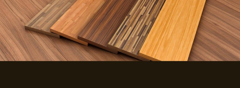 Assorted colors wood flooring