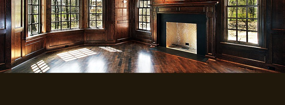 Restored hardwood floors