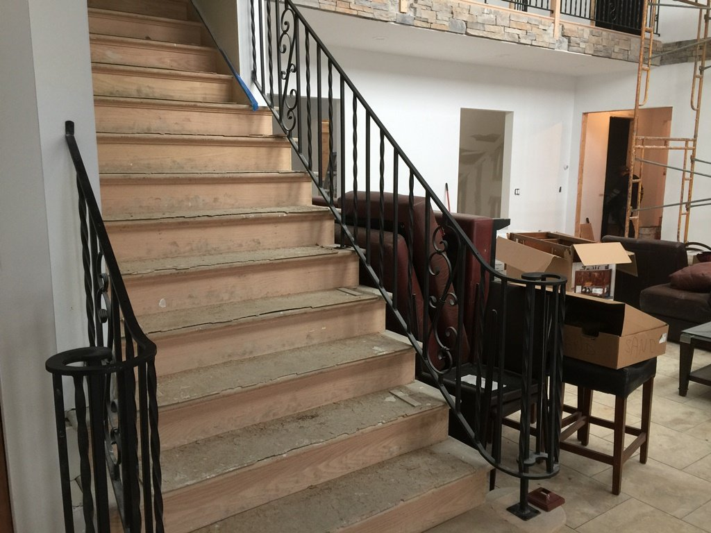 Interior Railings Ornamental Wrought Iron Cold Spring Ny