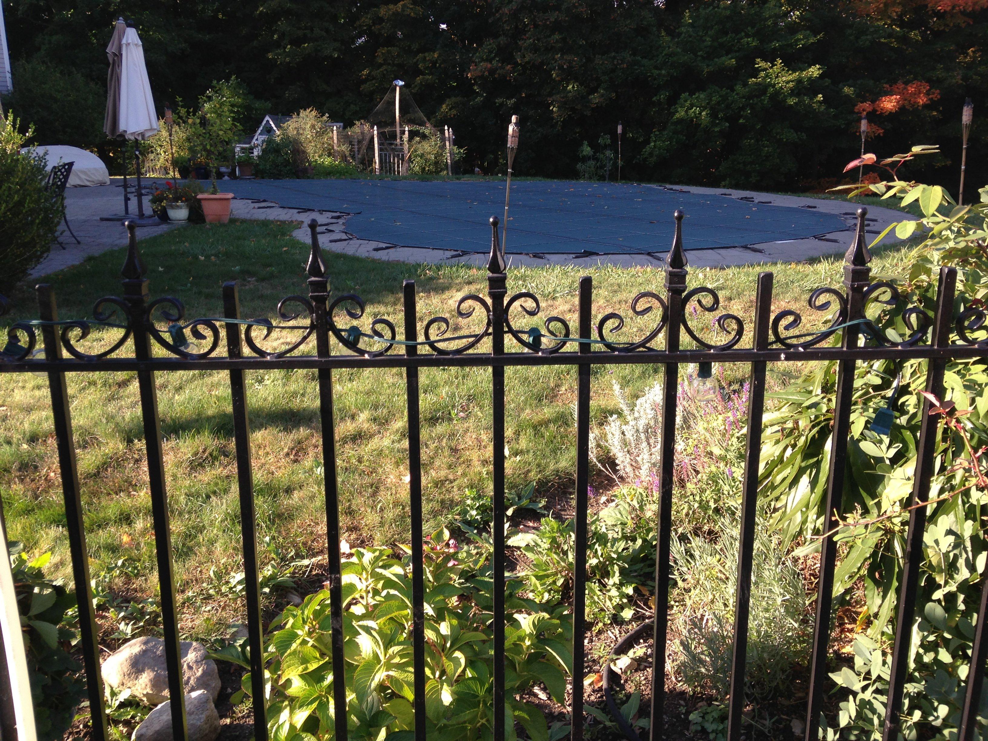 Iron Fence Ornamental Metalwork