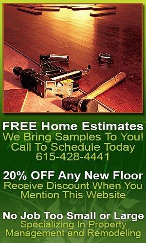 Floor Installations - Home Improvements - Nashville, TN