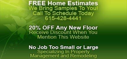 Home Remodeling - Nashville, TN - Floor Installations