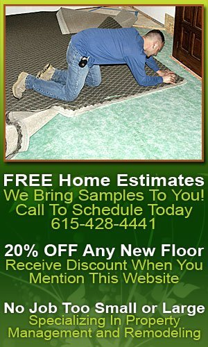 New Carpet - Nashville, TN - Floor Installations