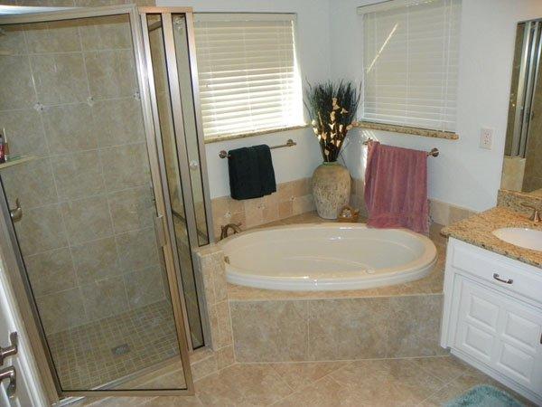 Marshall Construction bathroom remodel
